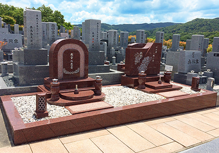 デザイン墓 拝石