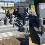 新しいデザインのお墓