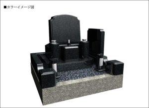 CAD洋墓カラー図面