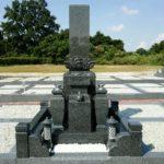 さとやま浄苑の新しい石塔