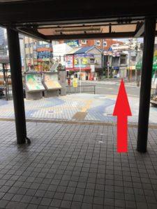 JR摂津富田駅 北口