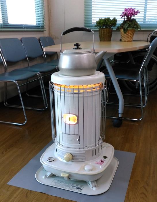 暖房も万全