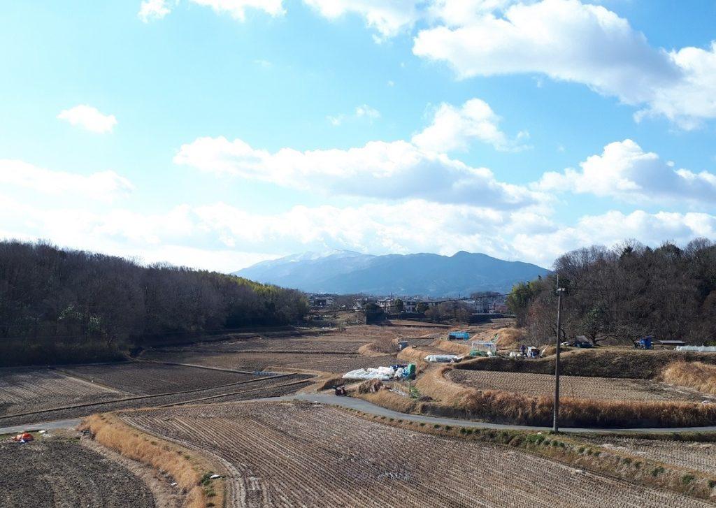 雪化粧の葛城山