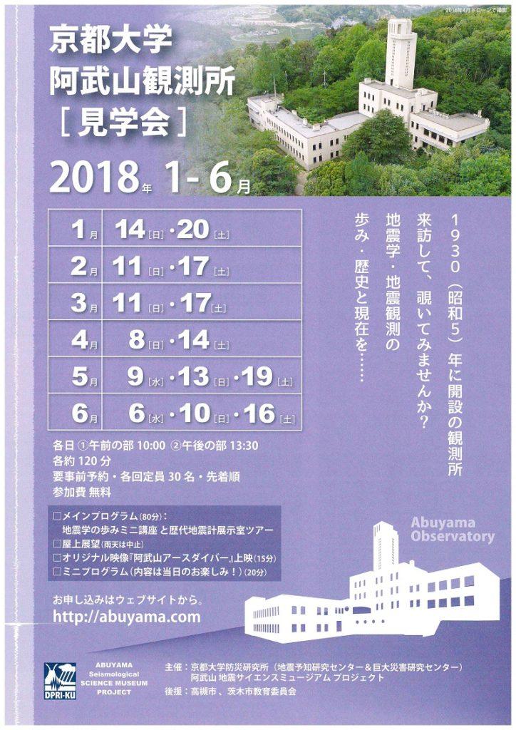 阿武山観測所 見学会 1