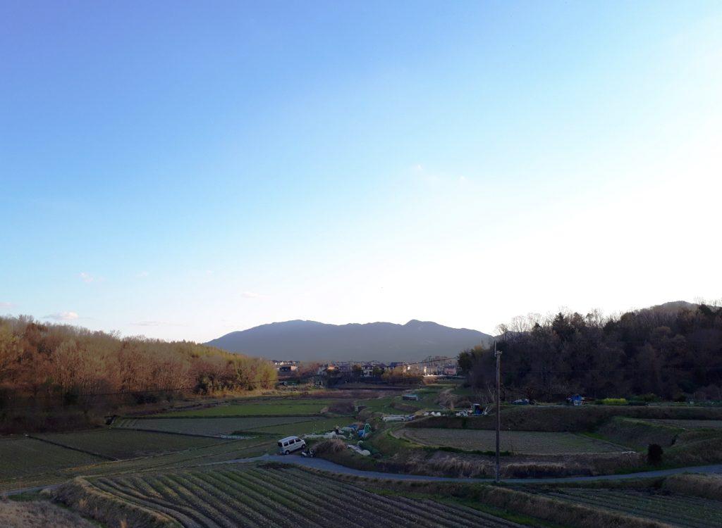 夕焼けの葛城山