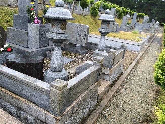 大きなお墓のお引越し