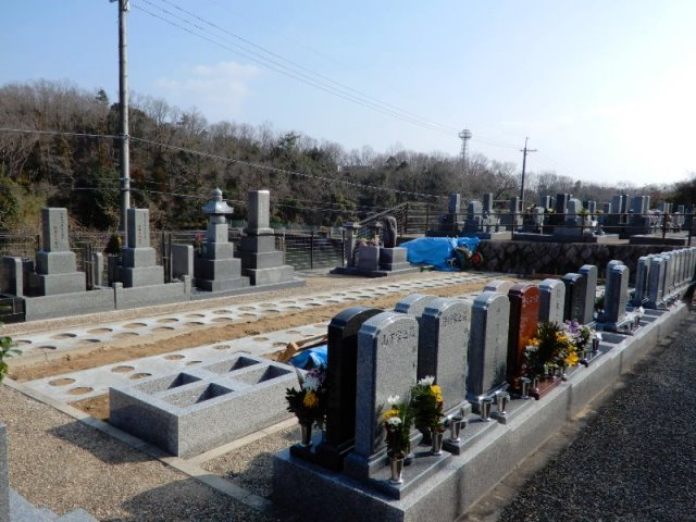 墓地 新区画