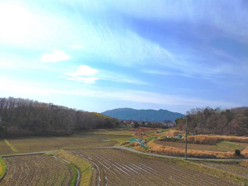 春彼岸の葛城山