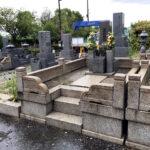 大阪市設 瓜破霊園での解体工事